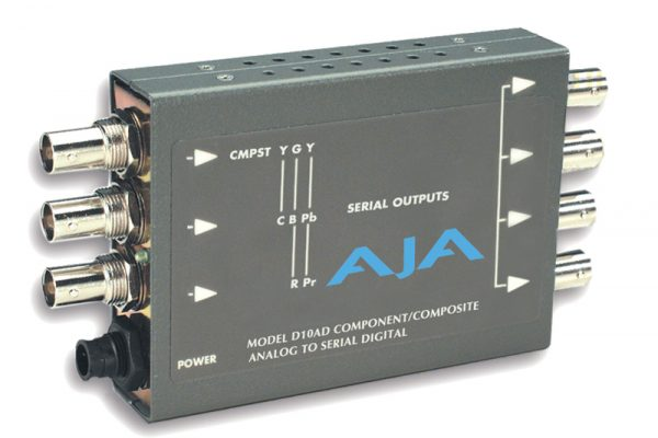 AJA-D10AD (ANALOG TO DIGITAL VIDEO)