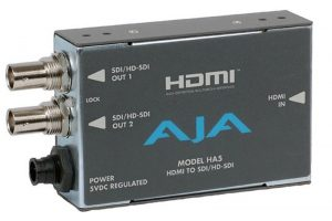 AJA-HA5 (HDMI TO SDI)