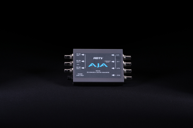 AJA-HD10A (RGB TO HD-SDI)