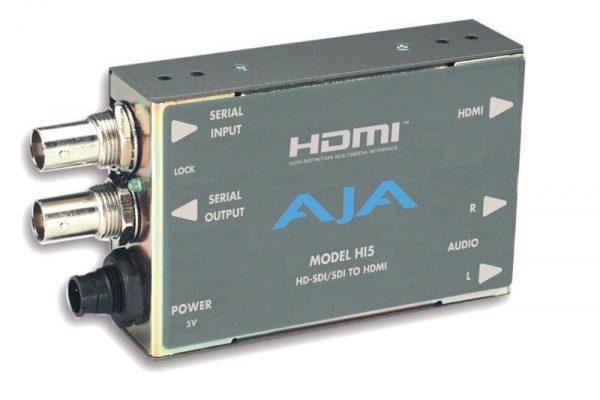 AJA-HI5 (HD-SDI TO HDMI)
