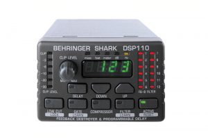 BEHRINGER SHARK DSP110 AUDIO DELAY