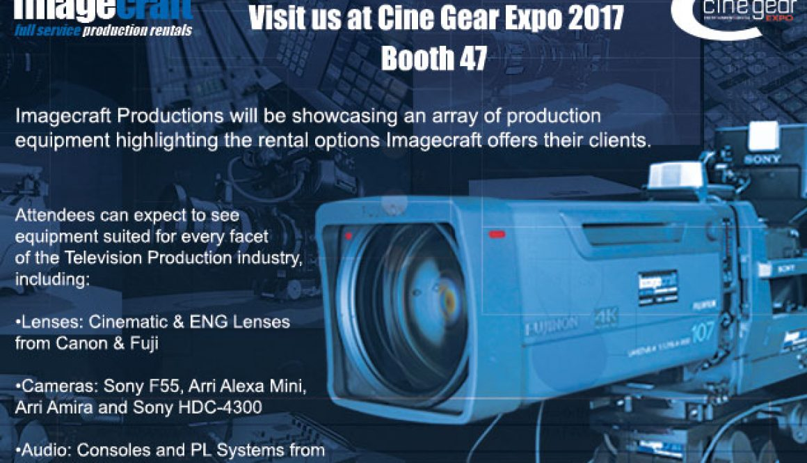 Cine Gear Video Equipment Rentals