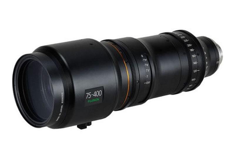 Fujinon 75-400mm T2.8-3.8 Premier PL Zoom Lens