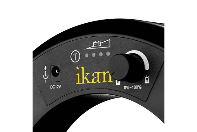 IKAN ILED RL-ROD MOUNT LED RING LIGHT