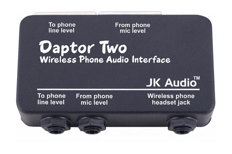 JK AUDIO DAPTOR 2 WIRELESS PHONE AUDIO INTERFACE