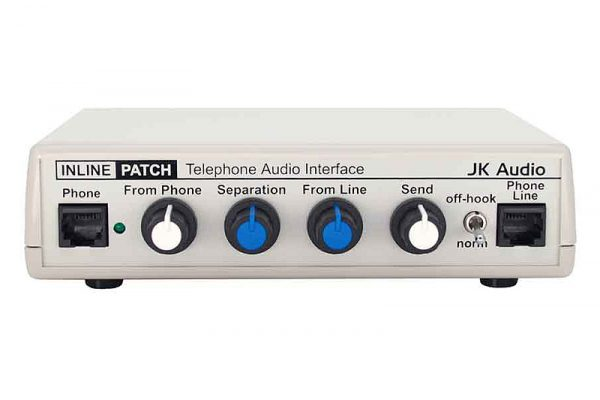 JK AUDIO INLINE PATCH AUDIO INTERFACE