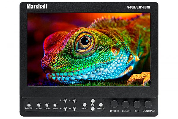"""7"""" MARSHALL V-LCD70XP-HDMI-SL LCD MONITOR"""