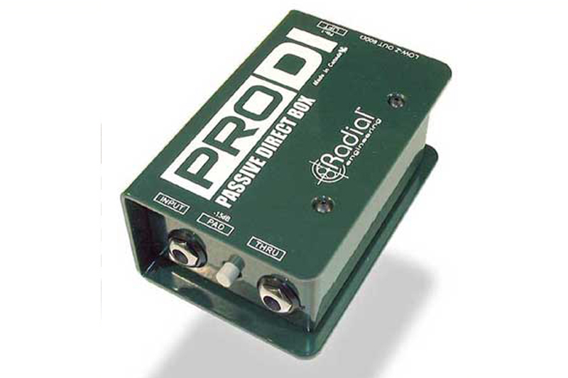 RADIAL PRO DI PASSIVE DIRECT BOX