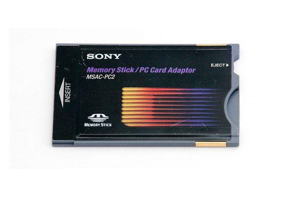 SONY MEMORY STICK/PC CARD ADAPTER MSAC-PC2