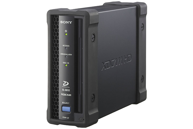 SONY PDW-U2 XDCAM DISC READER