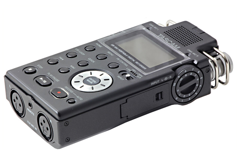 TASCAM DR-100 2-CHANNEL RECORDER