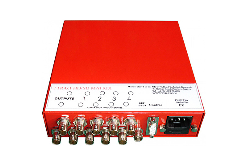TTR 4X1 HD/SD ROUTER