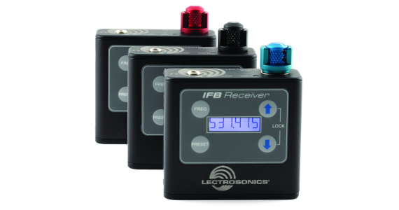 UHF Multi-Frequency Belt-Pack IFB Receiver