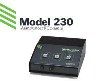 Model 230 Announcer's Console