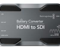 BLACKMAGIC HDMI TO SDI BATTERY CONVERTER