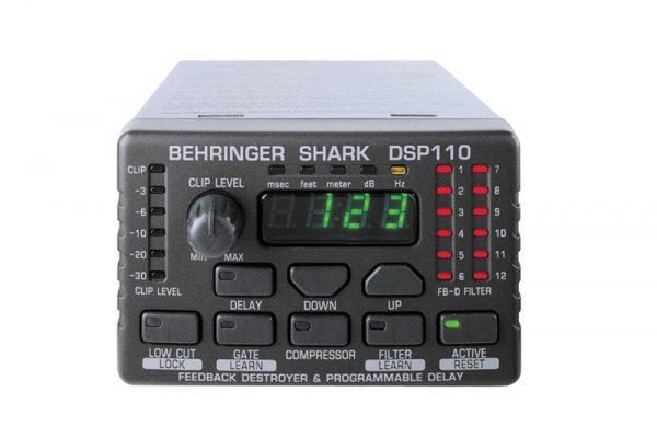 BEHRINGER SHARK DSP110 AUDIO DELAY