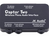 JK AUDIO DAPTOR 2 WIRELESS PHONE AUDIO INTERFACE