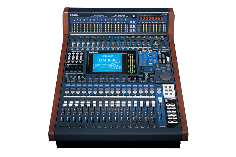 yamaha dm1000v2 digital mixer imagecraft productions. Black Bedroom Furniture Sets. Home Design Ideas